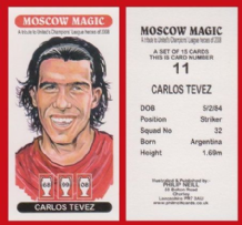 Manchester United Carlos Tevez Argentina 11 (1)
